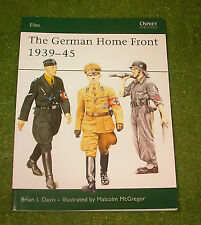 OSPREY MILITARY ELITE SERIES 157 THE GERMAN HOME FRONT 1939-45