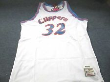 MITCHELL & NESS NBA THROWBACK SAN DIEGO CLIPPERS BILL WALTON WHITE JERSEY 60