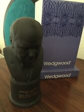 More details for wedgwood limited edition winston churchill bust cobalt coa & historical papers