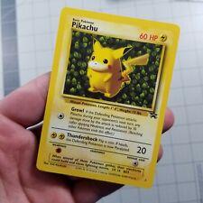 Pikachu #1 Ivy Black Star Promo Wotc Rare Ex/Nm Condition Pokemon Card