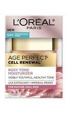 L'Oréal Age Perfect Rosy Tone Fragrance Free Face Moisturizer Skin Care Facial
