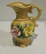 VTG OLD BRINNS PITTSBURGH PA CERAMIC PITCHER MADE IN JAPAN