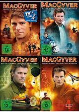 22 DVDs * MACGYVER - STAFFEL / SEASON 1 - 4 IM SET ~ MB # NEU OVP +