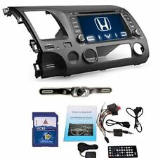Camera+7'' Honda Civic 2007-2011 Car GPS Navi Stereo CD DVD Player Touch Radio
