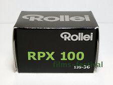 3 rolls Rollei RPX 100 B&W 35mm 36exp Film 135-36