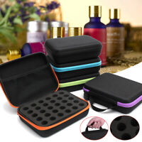 Essential Oils Holder Organizer Box Storage for 30 Bottles Carrying Travel Case