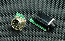 ICOM IC-718   -  MIC and PHONES sockets