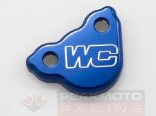 Works Connection 21-500 Blue Anodized Rear Brake Master Cylinder Cover