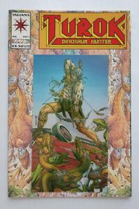 Valiant Turok Dinosaur Hunter 1993 #1 NM Foil Cover unread