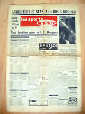 1968 Ies Sports dimanche, 17 November,No.11,ANDERLECHT ET STANDARD DOS A DOS:0-0