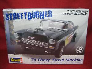 1955 Chevy Shoebox Street Machine Burner '55 Revell 1:24 Model Kit 2211