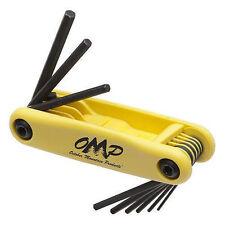 "Omp Pro-Shop Hex Wrench Set 5/16-1/4"""