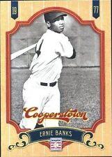 Ernie Banks Chicago Cubs Original Single Baseball Cards