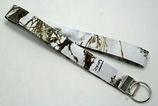 Snow Camo Camouflage True Timber MC2 Lanyard Key Ring Handmade Custom Designer