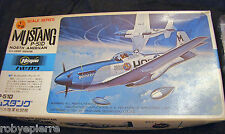 AEREO A 12 JAPAN Hasegawa 1:72 MUSTANG P-51D north american u.s army fighter kit