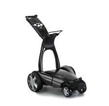 Stewart golf e-Trolley x9 con mando a distancia Elektro Caddy negro