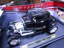 FORD Coupe 1932 Hot Rod V8 Muscle schwarz black S-Preis Motormax 1:18