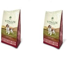 Vitalin Hypoallergenic Senior/Lite Salmon & Potato 2 x 12kg Gluten Free Dry Dog