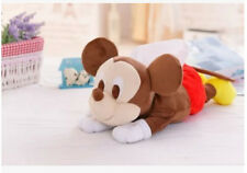 cute mickey mouse lying  plush tissue box holder cover Y181 new