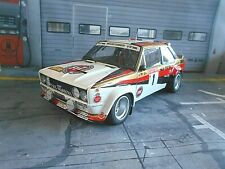 FIAT 131 Abarth Rallye DRM Hunsrück #1 Röhrl 1980 Warsteiner UMBAU Kyosho 1:18