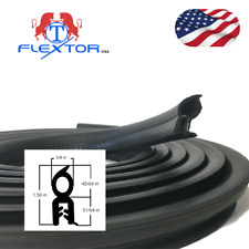 Cars Accessories Rubber Seal Steel Edge Trim Soundproofing Weatherstrip (15ft)