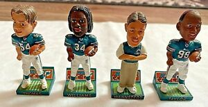 Miami Dolphins MINI MAGNETIC BOBBLEHEAD SET--Williams, Thomas, Wannstedt, Taylor