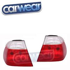 CLEAR RED OEM STYLE TAIL LIGHT BMW E46 3-SERIES 98-02 SEDAN 4D