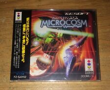 Brand New Microcosm 3DO Real Panasonic Game Complete Fun Japan Import Games