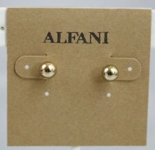 Macys Alfani Stud Earrings Gold-tone Balls 5 mm Petite