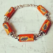 OOAK único Mini-Pulsera Artesanal queso Retro Galleta McVities Ace