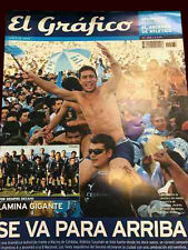 ATLETICO de TUCUMAN CHAMPION 2008 - Promotion to First B - El Grafico mag/poster