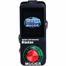 Mooer Radar Speaker Cab Simulator IR loader with Color LED Screen NEW!