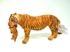 U28) PAPO 50118 Tiger Tigresse with Cup Safari Tigre hembra y su bebe