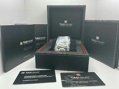 Tag Heuer Grand Carrera Calibre 6 Watch Automatic Chronometer WAV511A Full Kit