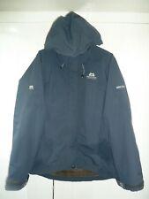 Señoras Gore-Tex Azul Marino Con Capucha Chaqueta De Equipo De Montaña En Talla 10