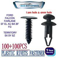200 For Ford Territory AU BA BF Mud Flap Scrivet Clip Cold Air Intakes Fastener