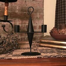 New ListingPrimitive Candle Holder - Black Metal - Perfect Accent for Prim Vignettes