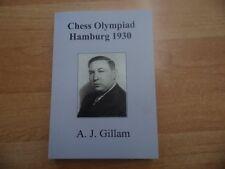 Gillam: Chess Olympiad hamburgo 1930 rare and Unpublished no 112 de 2016