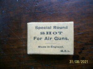 Vintage air gun pellets for Webley & BSA air rifles & Pistols