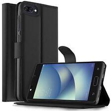 Pour Asus Zenfone 4 max plus ZC554KL Housse portefeuille cuir synthétique