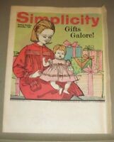 Simplicity Fashion Preview Pamphlet December, 1953