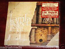 Lamb Of God VII Sturm Und Drang Limited Edition CD 2015 Bonus Tracks Digipak NEW