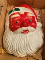 Vintage NOMA Indoor & Outdoor Santa Claus Head Light Up