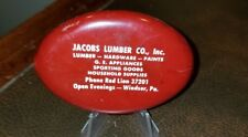 Vintage Windsor York Pa Jacobs Lumber Coin Pouch