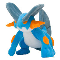 Pokemon Center Original Plush Doll Swampert (Laglarge) JAPAN OFFICIAL