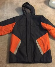 Old Navy Jacket XXL Blue and Orange Warm Nice STYLE SEE Measurements