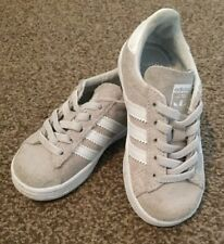 Adidas Campus Grey White Trainers Baby Toddler Infant 6 Boys Girls Free Delivery