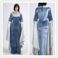 The Lord Of The Rings Arwen Traveling Dress Uniform Cosplay Costume Halloween