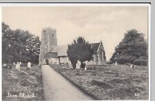 Suffolk; Iken Church, PPC Unposted, View Across Graveyard, c 1910's