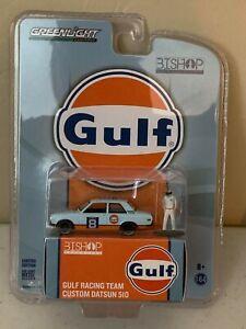 Greenlight Bishop Exclusive Gulf Racing Team Custom Datsun 510 Blue Orange